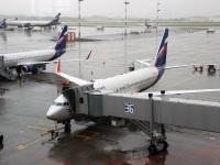 Москва. Самолет Boeing 737 (VQ-BWD) Георгий Товстоногов авиакомпании Аэрофлот (Aeroflot)