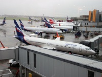 Москва. Самолет Boeing 737 (VP-BRH) Борис Кустодиев авиакомпании Аэрофлот (Aeroflot)