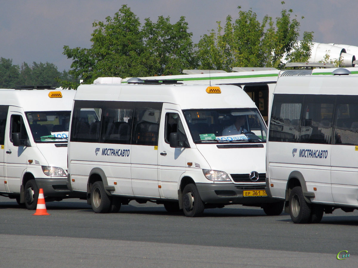 Жуковский. EvoBus Russland 904.663 (Mercedes Sprinter) ер361
