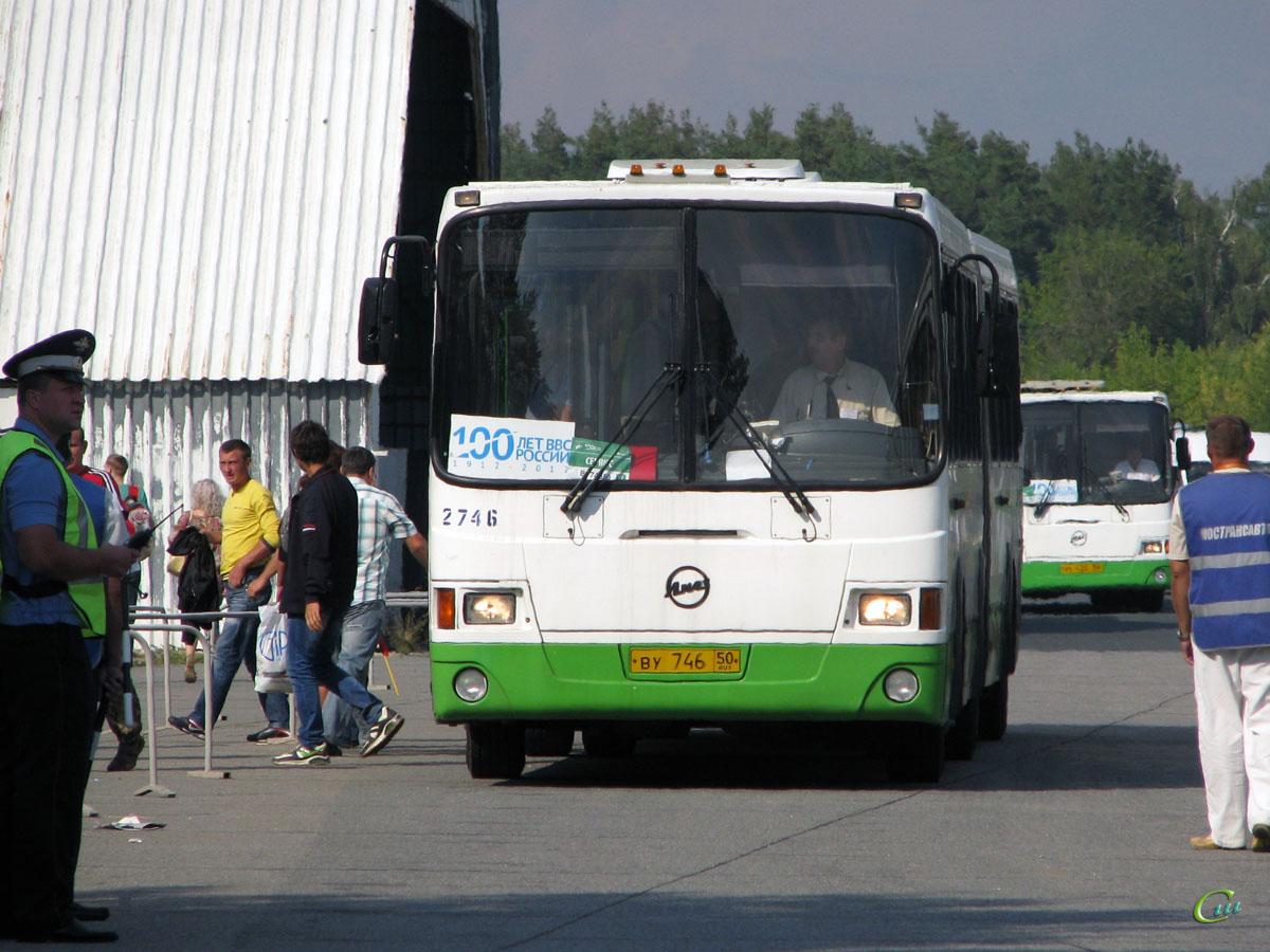 Жуковский. ЛиАЗ-6212.01 ву746