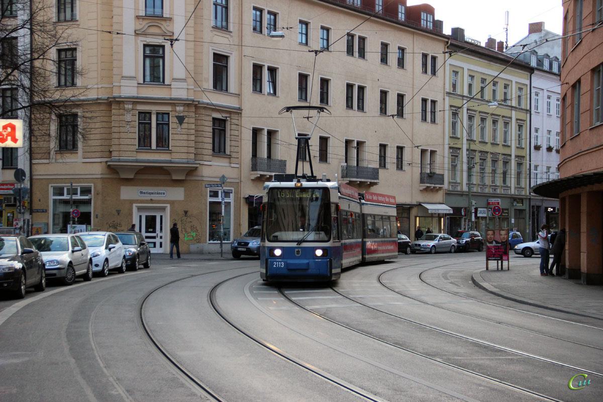 Мюнхен. AEG R2.2 №2113