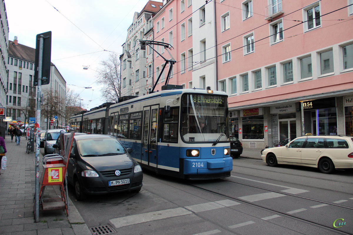 Мюнхен. AEG R2.2 №2104