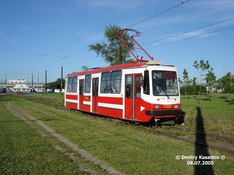 Санкт-Петербург. 71-134А (ЛМ-99АВ) №7301