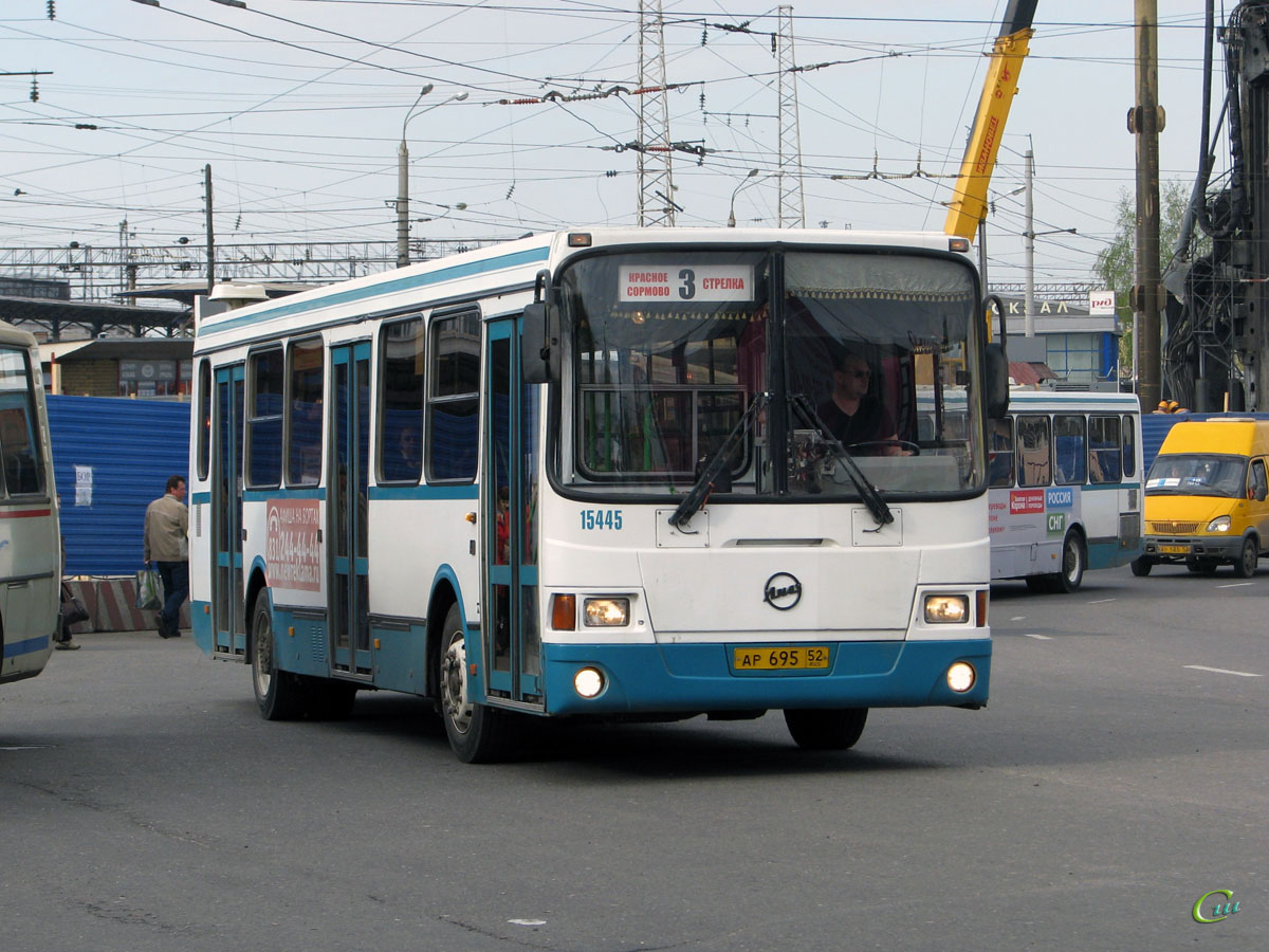 Нижний Новгород. ЛиАЗ-5256.26 ар695