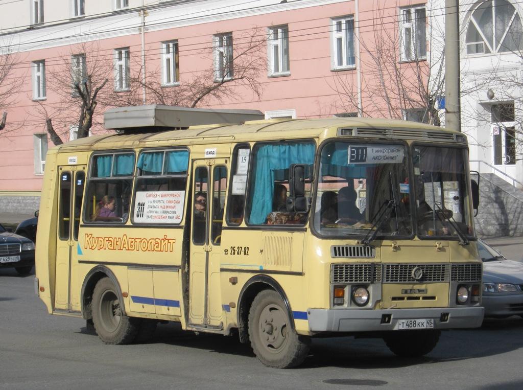 Курган. ПАЗ-32053 т488кк