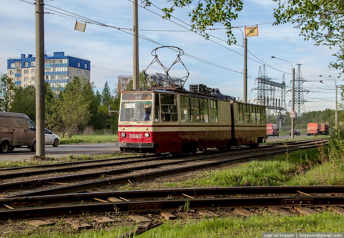 Санкт-Петербург. ЛВС-86К №7047