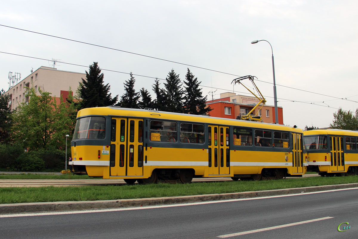 Пльзень. Tatra T3R.P №268