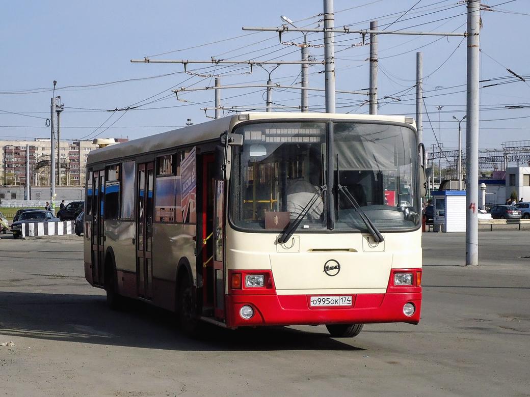 Челябинск. ЛиАЗ-5256.53 о995ок