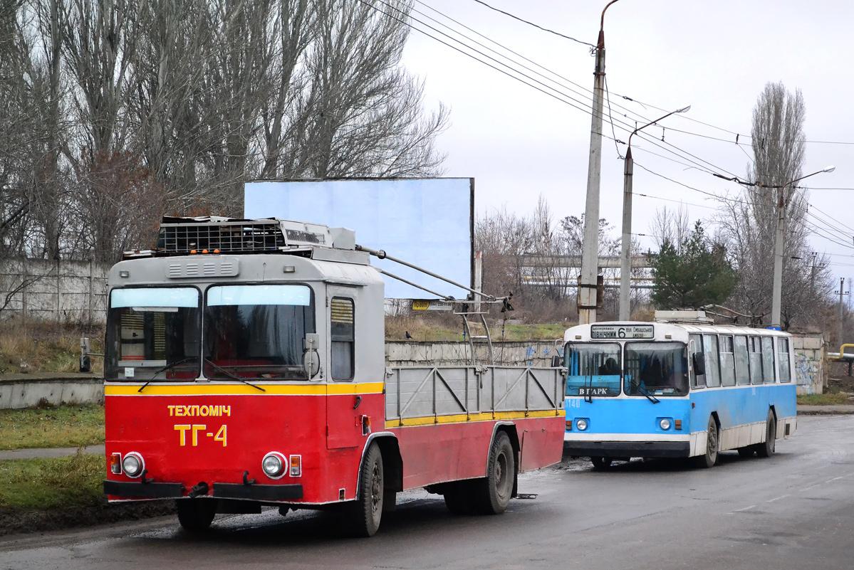 Николаев. КТГ-2 №ТГ-4, ЗиУ-682В-012 (ЗиУ-682В0А) №3140