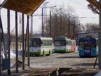 Курган. ЗиУ-682Г-012 (ЗиУ-682Г0А) №646, ВЗТМ-5280 №645, ЛиАЗ-5256.45 ав101