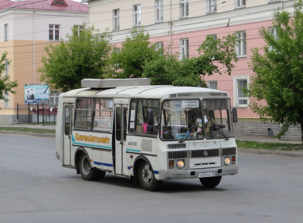 Курган. ПАЗ-32053 х202ке