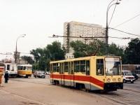 Москва. 71-608КМ (КТМ-8М) №5228, 71-608К (КТМ-8) №4111, Tatra T3SU №1473