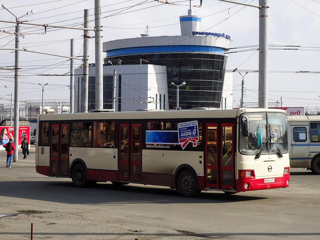 Челябинск. ЛиАЗ-5256.53 м822ок
