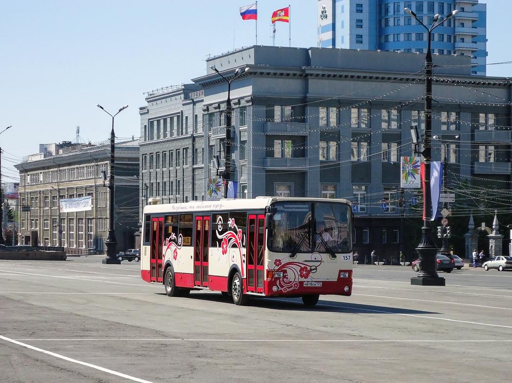 Челябинск. ЛиАЗ-5256.53 м818ок