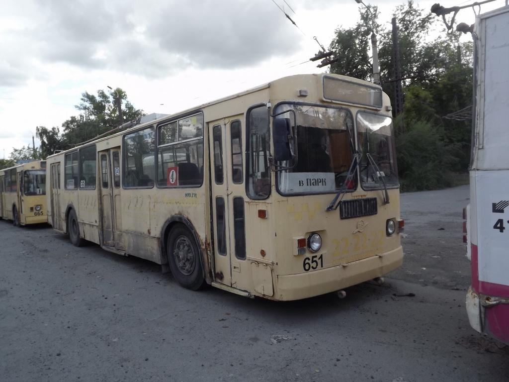 Курган. ЗиУ-682Г-012 (ЗиУ-682Г0А) №651, ЗиУ-682Г-012 (ЗиУ-682Г0А) №665