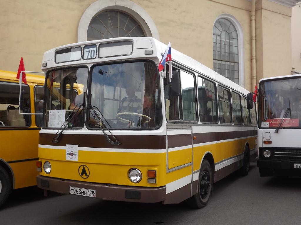 Санкт-Петербург. ЛАЗ-42021 т963мн