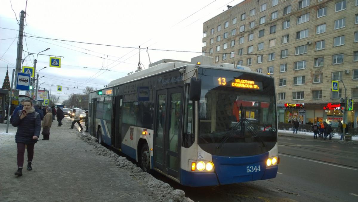 Санкт-Петербург. ВМЗ-5298.01 №5344