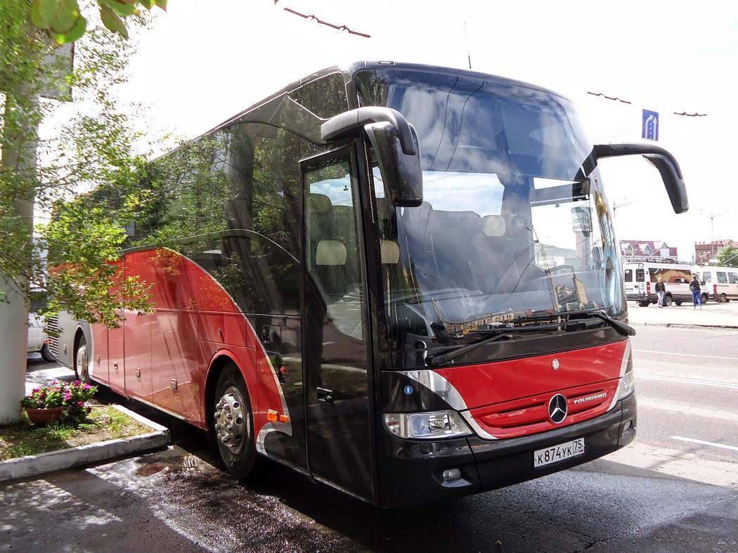 Чита. Mercedes O350 Tourismo к874ук