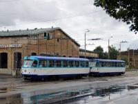 Рига. Tatra T3A №51754, Tatra T3A №51765