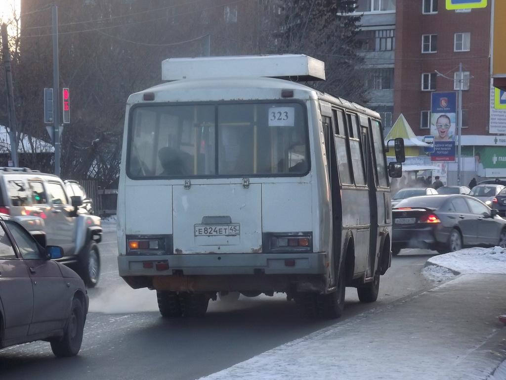 Курган. ПАЗ-32054 е824ет
