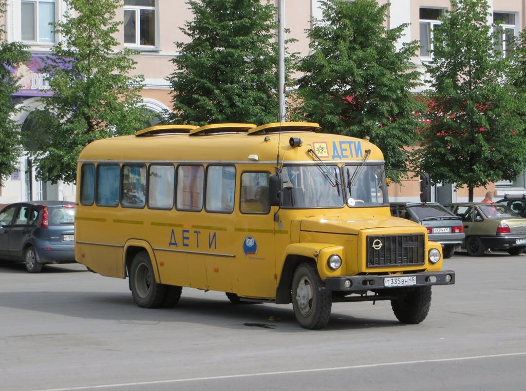 Курган. КАвЗ-39765 т335вн