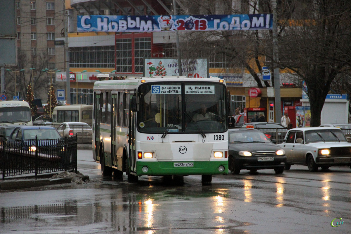Ростов-на-Дону. ЛиАЗ-5256.53 о423рт