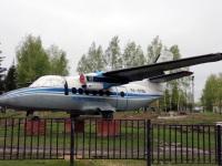 Саров. Самолет-памятник Л-410УВП (RA-67150)