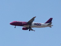 София. Самолет Airbus A320 (HA-LPT) авиакомпании Wizz Air