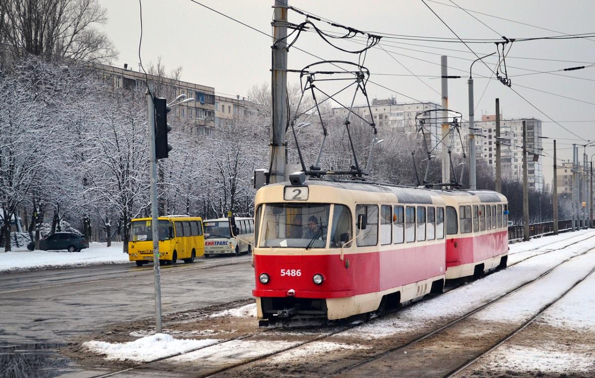 Киев. Tatra T3SU №5486, Tatra T3SU №5533