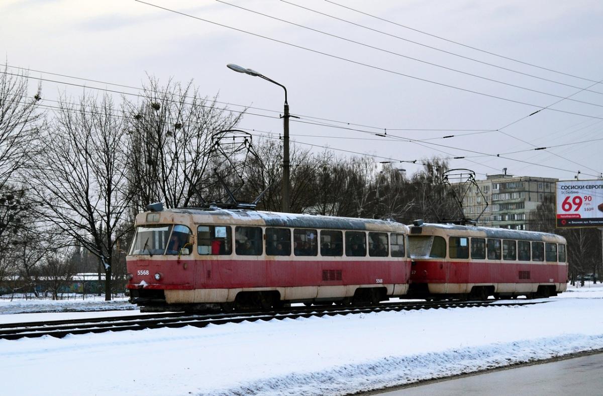 Киев. Tatra T3SU №5567, Tatra T3SU №5568