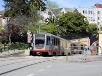 Сан-Франциско. Breda LRV №1482, Breda LRV №1515