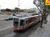 Сан-Франциско. Breda LRV №1450, Breda LRV №1547