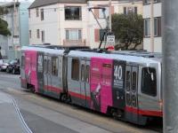 Сан-Франциско. Breda LRV №1412, Breda LRV №1463