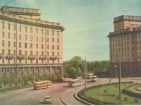 Санкт-Петербург. Автобусы ЗИС-155, ЗИЛ-158 и ЛАЗ-695