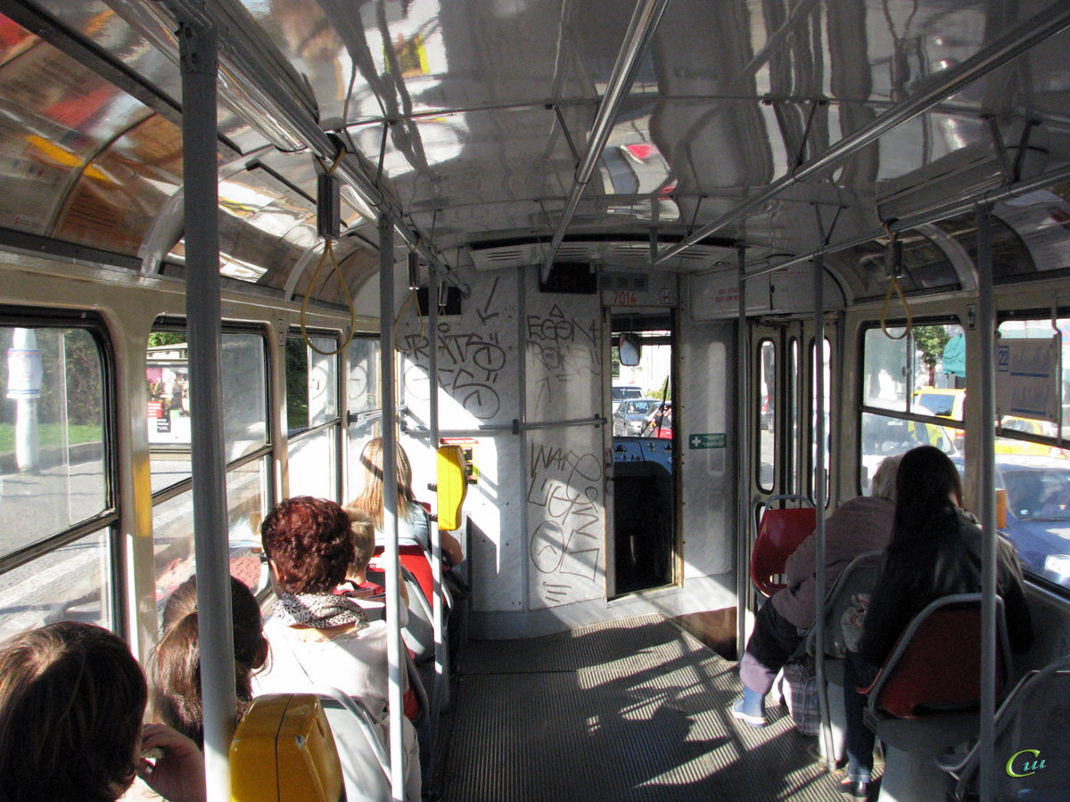 Прага. Tatra T3SU №7014