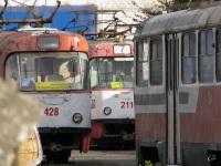 Тула. Tatra T3SU №428, Tatra T3SU №211