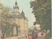 Львов. Трамваи Gotha T57 и Gotha B57