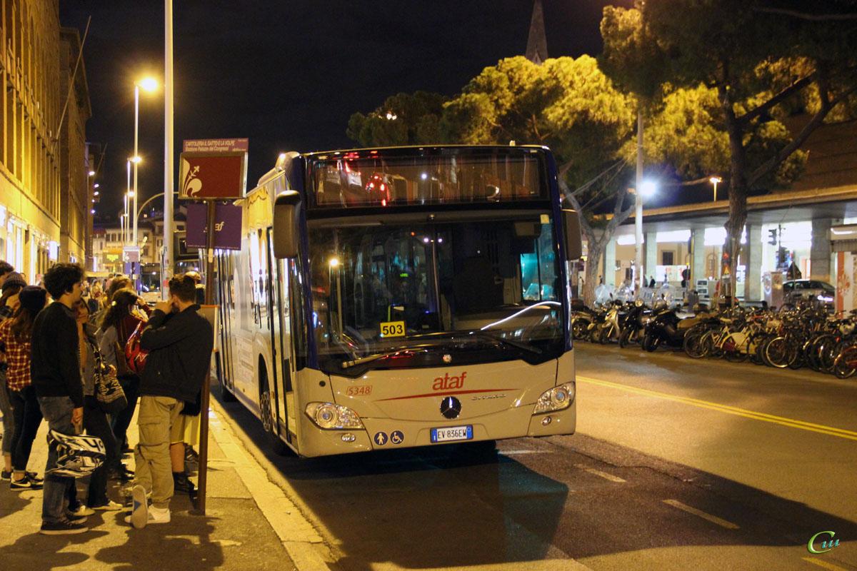 Флоренция. Mercedes O530 Citaro EV 836EW