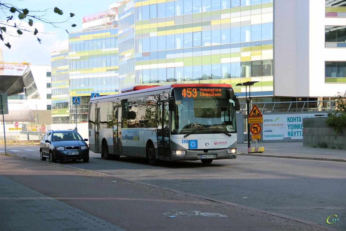 Хельсинки. Irisbus Crossway LE 12.8M VHZ-787