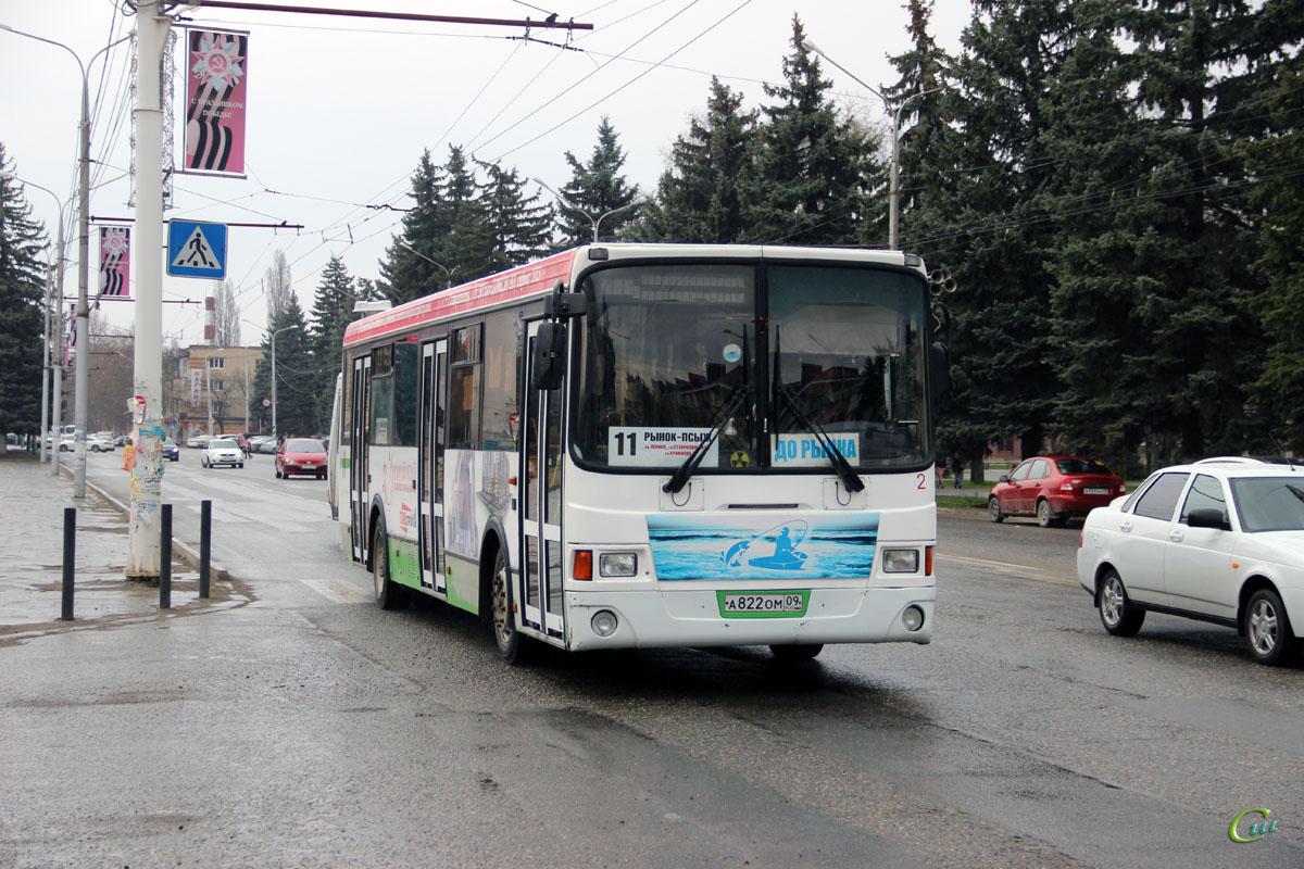 Черкесск. ЛиАЗ-5256.53 а822ом
