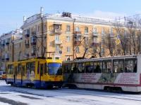 Комсомольск-на-Амуре. 71-134К (ЛМ-99К) №101, 71-605А (КТМ-5А) №34
