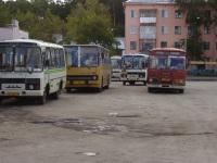 Шадринск. ПАЗ-32054 аа487, Ikarus 260.50 ав358, ЛиАЗ-677М аа530