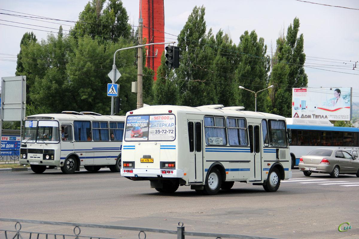 Белгород. ПАЗ-32054 ае416, ПАЗ-3205 р006рн