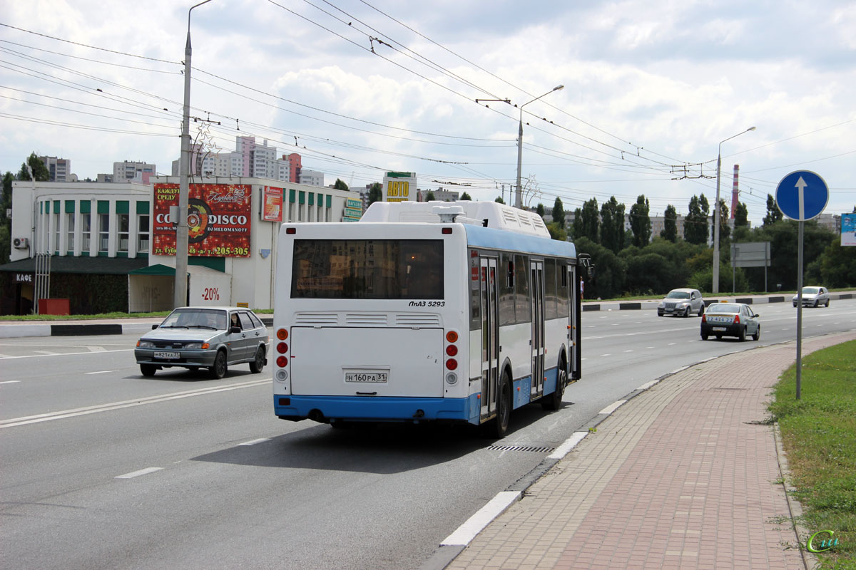 Белгород. ЛиАЗ-5293.70 н160ра