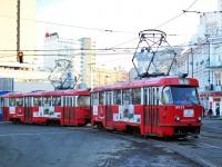 Киев. Tatra T3 №6015, Tatra T3SU №5570