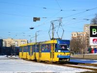 Киев. Tatra KT3 №406