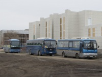 Курган. Neoplan N2216SHD Tourliner т415ао, Hyundai Universe Space Luxury у201сс, Hyundai AeroTown н235ах