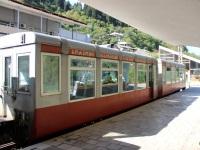 Боржоми. Пассажирский вагон № 038 на узкоколейной линии Боржоми - Бакуриани