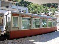 Боржоми. Пассажирский вагон № 044 на узкоколейной линии Боржоми - Бакуриани