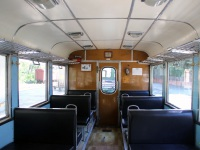Боржоми. Салон пассажирского вагона № 043 на узкоколейной линии Боржоми - Бакуриани